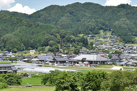 道の駅 信州新野千石平 蔵